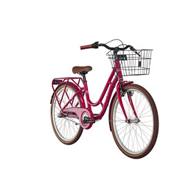 "Ortler Copenhagen Børnecykel 24"" rød"